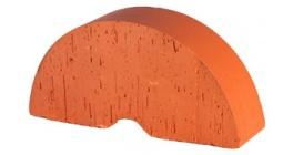 Кирпич керамический облицовочный фигурный полнотелый (радиальный) Lode Janka гладкий 250*121*65 мм фото