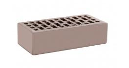 Кирпич керамический облицовочный пустотелый КС-керамик Камелот темный шоколад гладкий 250*120*65 мм фото