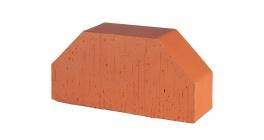 Кирпич керамический облицовочный фигурный полнотелый Lode Janka F7 гладкий 250*120*65 мм фото