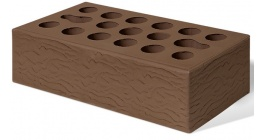 Кирпич керамический облицовочный пустотелый Керма Терракот УТ.СТ рустик 1NF 250*120*65 мм фото