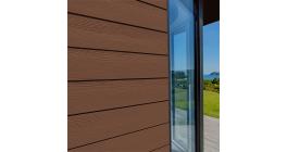 Фиброцементный сайдинг Cedral Click Wood C30 Теплая земля, 3600*186*12 мм фото