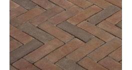 Клинкерная тротуарная брусчатка ручной формовки Penter Novoton, 200х65х85 мм фото