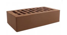 Кирпич керамический облицовочный пустотелый Строма Коричневый гладкий 250*120*65 мм фото