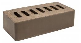Кирпич клинкерный облицовочный пустотелый Kerma Premium Klinker Коричневый гладкий 0.5NF 250×60×65 фото