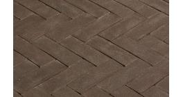 Клинкерная тротуарная брусчатка ручной формовки Penter Mastiekt, 200х65х85 мм фото