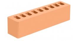 Кирпич керамический облицовочный пустотелый Голицынский КЗ Соломенный гладкий 250*60*65 мм фото