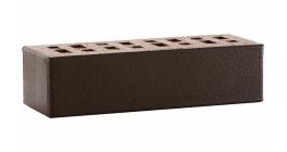 Кирпич клинкерный облицовочный пустотелый ЛСР Рейкьявик черный глянцевый 250*85*65 мм фото