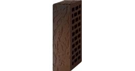 Кирпич керамический облицовочный пустотелый Вышневолоцкая керамика графит дуб, 250*120*65 мм фото
