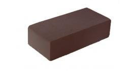 Кирпич силикатный облицовочный полнотелый Павловский завод черный 250*120*65 мм фото