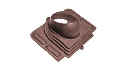 Проходной элемент VILPE PELTI для металлической кровли, шоколадный фото