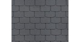Мягкая кровля DOCKE Standard Крона Серый фото