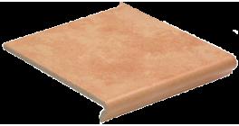 Клинкерная ступень флорентинер Euramic Cavar E542 passione, 340x294x11 мм фото