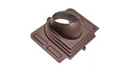 Проходной элемент VILPE PELTI для металлической кровли, коричневый фото
