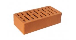 Кирпич керамический облицовочный пустотелый Эталон красный гладкий М150, 250*120*65 мм фото