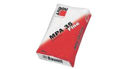 Штукатурка известково-цементная фасадная Baumit MPA 35 Fine, 25 кг фото