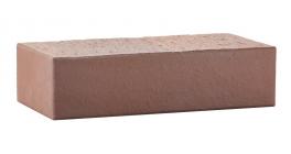 Кирпич керамический облицовочный полнотелый ЛСР коричневый гладкий M250-500, 250*120*65 мм фото