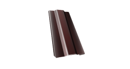 Защелка для кронштейна Гранд Лайн (Grand Line) Granite RAL 8017 шоколад, D 150/100 мм фото