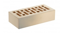 Кирпич керамический облицовочный пустотелый RECKE 1-41-00-0-00 серый на белом 250*120*65 мм фото