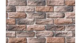 Искусственный камень White Hills Брюгге брик угловой элемент цвет 316-75 фото