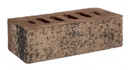 Кирпич клинкерный облицовочный пустотелый Faber Jar, коричневый Нарвский, 215х102х65 мм фото