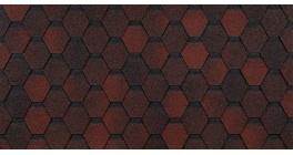 Мягкая кровля DOCKE Eurasia Шестигранник Красный фото