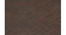 Клинкерная тротуарная брусчатка ручной формовки Penter Ombert, 200х50х85 мм фото