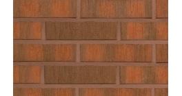 Кирпич керамический облицовочный  Terca Red flame F2F шероховатый, 250*85*65 мм фото