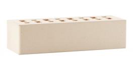 Кирпич клинкерный облицовочный пустотелый ЛСР Неаполь белоснежный гладкий 250*85*65 мм фото