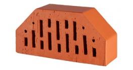 Кирпич керамический облицовочный фигурный пустотелый Lode Janka F7 гладкий 250*120*65 мм фото