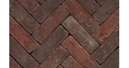 Клинкерная тротуарная брусчатка ручной формовки Penter Qualiton mix tumbled, 200х65х65 мм фото