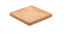 Клинкерная ступень прямоугольная угловая Stroeher Roccia X 927 Rosenglut, 340*340*35*11 фото