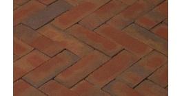 Клинкерная тротуарная брусчатка ручной формовки Penter Padova, 200х65х85 мм фото