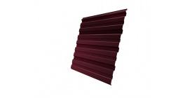 Профнастил фигурный Гранд Лайн (Grand Line) C10, 0,45 PE R, красное вино фото