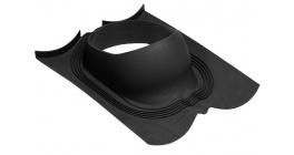 Проходной элемент для Decra (панели Classic) LUXARD, черный фото