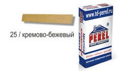 Цветной кладочный раствор PEREL NL 0125 кремово-бежевый, 50 кг фото