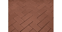 Брусчатка тротуарная клинкерная Penter rot, 200x100x52 мм фото