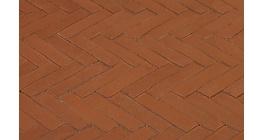 Клинкерная тротуарная брусчатка ручной формовки Penter Bruno wasserstrich, 200х50х85 мм фото