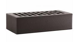 Кирпич керамический облицовочный пустотелый ЛСР Графит 250*120*65 мм фото