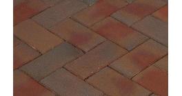 Клинкерная тротуарная брусчатка ручной формовки Penter Padova, 200х100х80 мм фото