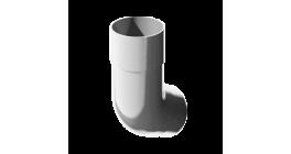 Колено трубы ТехноНИКОЛЬ (Verat) белый 135 град., D 82 мм фото