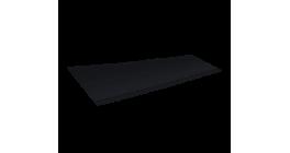 Ребристый желобок для обустройства ендовы LUXARD 1,6 м, черный фото