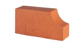 Кирпич керамический облицовочный радиусный полнотелый Lode Janka F13 гладкий 250*120*65 мм фото