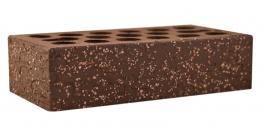 Кирпич керамический облицовочный пустотелый Kerma Premium Brown Granite 0.7NF 250×85×65 фото