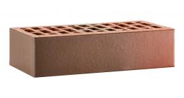 Кирпич керамический облицовочный пустотелый ЛСР Красный флэш гладкий 250*120*65 мм фото