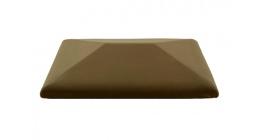 Колпак для забора ZG Clinker CP коричневый 425*300 фото