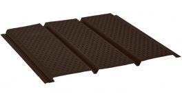 Софит с полной перфорацией AQUASYSTEM темно-коричневый (RR32), 2,4*0,303 м фото