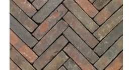 Клинкерная тротуарная брусчатка ручной формовки Penter Gasol wasserstrich tumbled, 200х50х85 мм фото