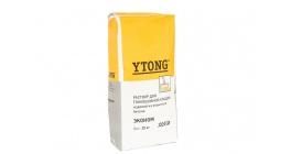 Тонкошовный раствор YTONG клей для кладки газобетона, 25 кг. фото