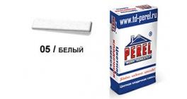 Цветной кладочный раствор PEREL NL 0105 белый, 50 кг фото