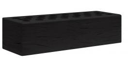 Кирпич керамический облицовочный пустотелый Kerma Color Black Powder R 0.7NF 250×85×65 фото